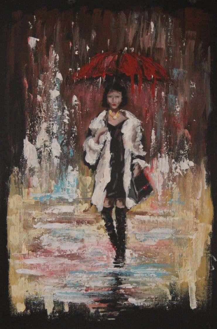 amo la pioggia