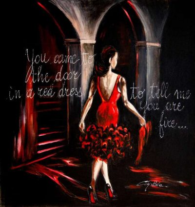 Red Firey Dress