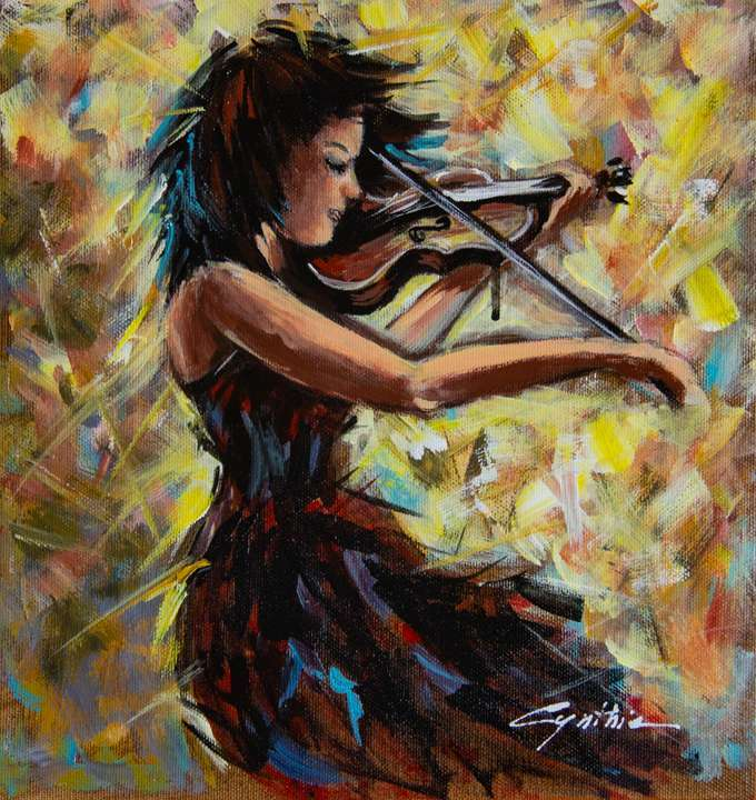 Violino, Suono di Dolcezza