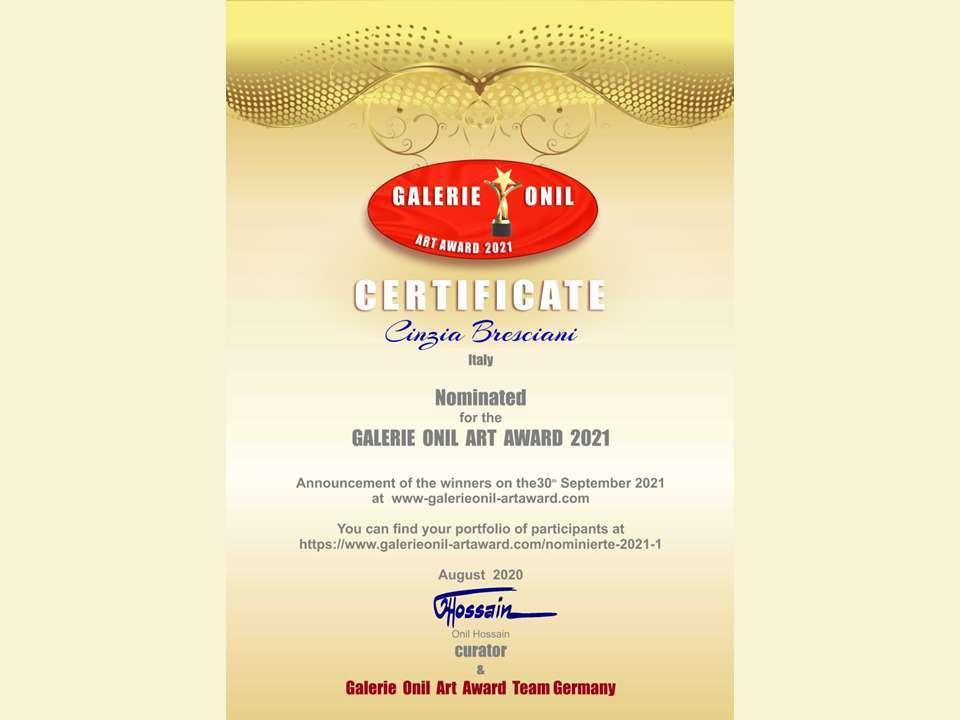 gallerie Onil award