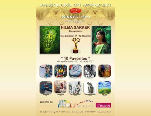 Galerie Onil Art Award 2021 – Annuncio dei vincitori del premio
